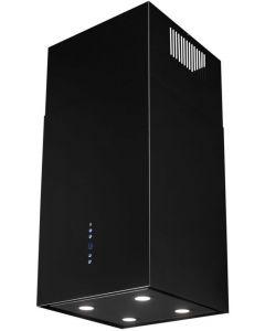 Okap wyspowy Toflesz Sandy Isla Lux 850m3/h czarny matt + pilot